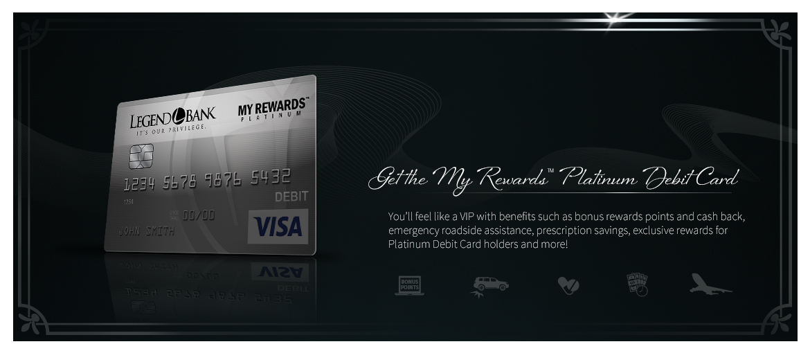 Get the My Rewards Platinum Debit Card!