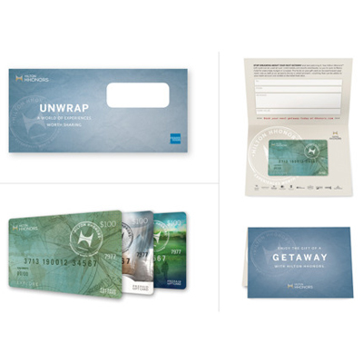 HILTON HONORS™ $100 Gift Card - From getaways to golf, use this $100 Hilton Honors™ gift card for your next Hilton<sup>&reg;</sup> brand adventure.