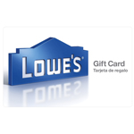 LOWE'S HOME IMPROVEMENT<sup>&reg;</sup> $25 Gift Card